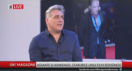 """LIVE pe OK! Magazine: Interviu cu Lior Ashkenazi, partenerul lui Armand Assante în """"Vânătorul de spirite"""""""