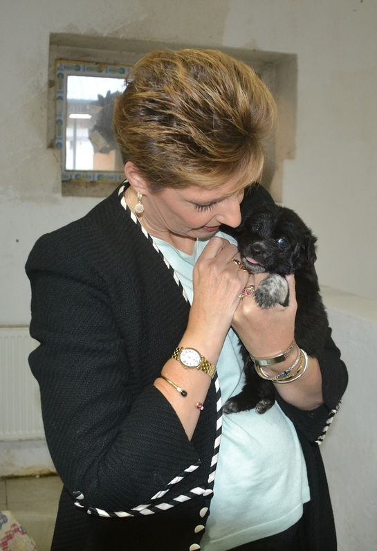 Principesa Maria, o mare iubitoare de animale FOTO