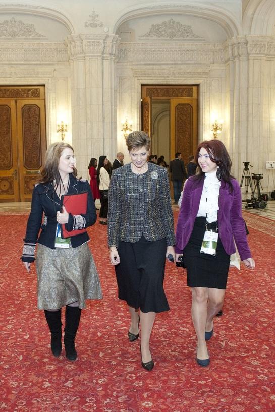 Principesa Maria, la Conferinţa Internaţională a Femeilor Francofone FOTO