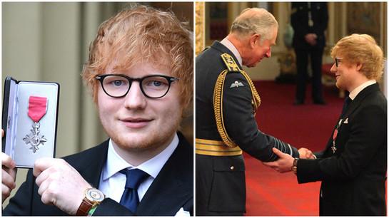 Ed Sheeran a încălcat protocolul regal când l-a întâlnit pe Prinţul Charles. Ce a făcut artistul?