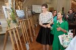 Principesa Maria, la vernisajul şi lansarea găzduite de Şcoala Britanică din Bucureşti FOTO