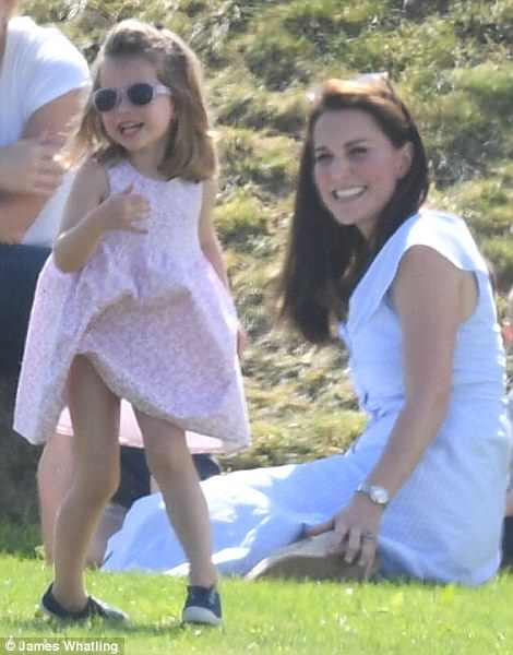 Prinţesa Charlotte, pasionată de modă de la 3 ani. Ce spune prinţul William despre fetiţa lui