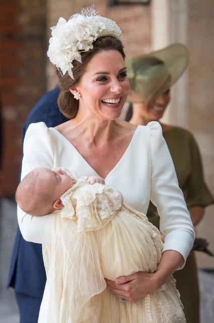 Ce a mărturisit Ducesa de Cambridge despre Louis, la botez?