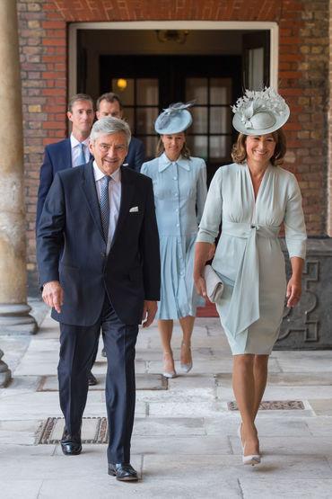 Familia lui Kate Middleton a fost punctuală. Pippa a ales o rochie superbă!