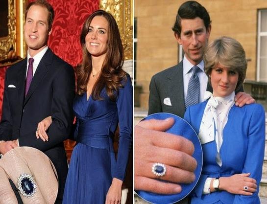 Adevărul neştiut despre inelul de logodnă al Prinţesei Diana, pe care îl poartă acum Kate Middleton