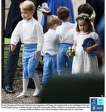 Prinţul George a furat din nou toate privirile! A arătat ca un militar, dar Prinţesa Charlotte nu a fost impresionată