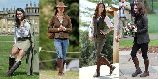 De ce poartă Kate Middleton mereu această pereche de cizme? Le ştim de 14 ani!