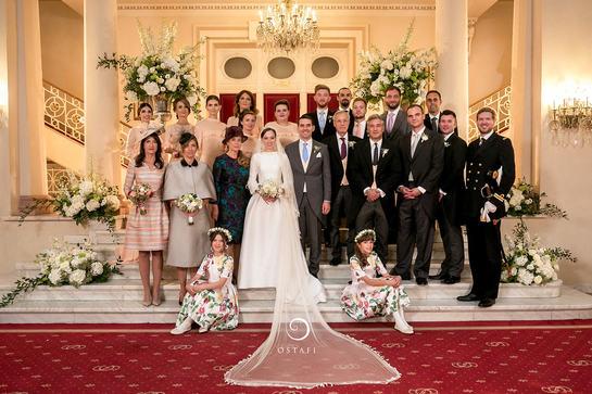 Albumul foto oficial de la nunta lui Nicolae al României cu Alina Binder