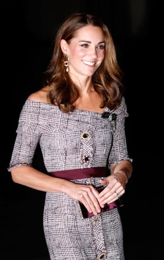 O nouă apariţie de excepţie a Ducesei de Cambridge. Kate, într-o creaţie Erdem