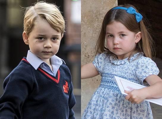 George şi Charlotte, roluri importante, mâine, la nunta mătuşii lor