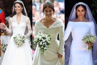 Prinţesa Eugenie a intrat în istorie cu rochia ei de mireasă! Cu ce s-a deosebit de Meghan şi Kate?