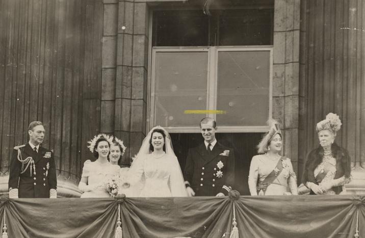 Philip şi Elisabeta s-au căsătorit pe 20 noiembrie 1947