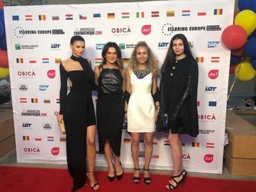 Vedete româneşti pe covorul roşu la Hollywood!