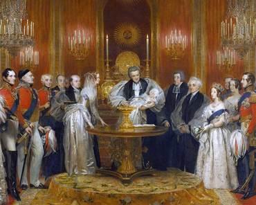 Ce obiect a lipsit de la un singur botez regal şi a părăsit doar o dată Londra? Este folosit din anul 1841!