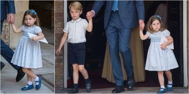 Ce le-a spus îndrăzneaţa Charlotte fotografilor prezenţi la botezul frăţiorului ei, Prinţul Louis?