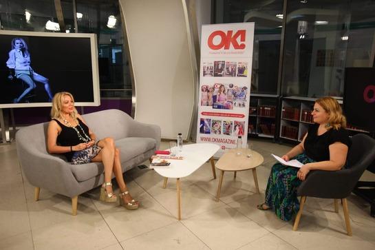 """OK! TV - De vorbă cu Dana Săvuică, la """"E OK să fii vedetă?"""""""