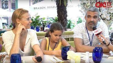 """Monica Davidescu & Aurelian Temişan, la OK!TV: """"Fiica noastră joacă într-un spectacol de teatru"""""""