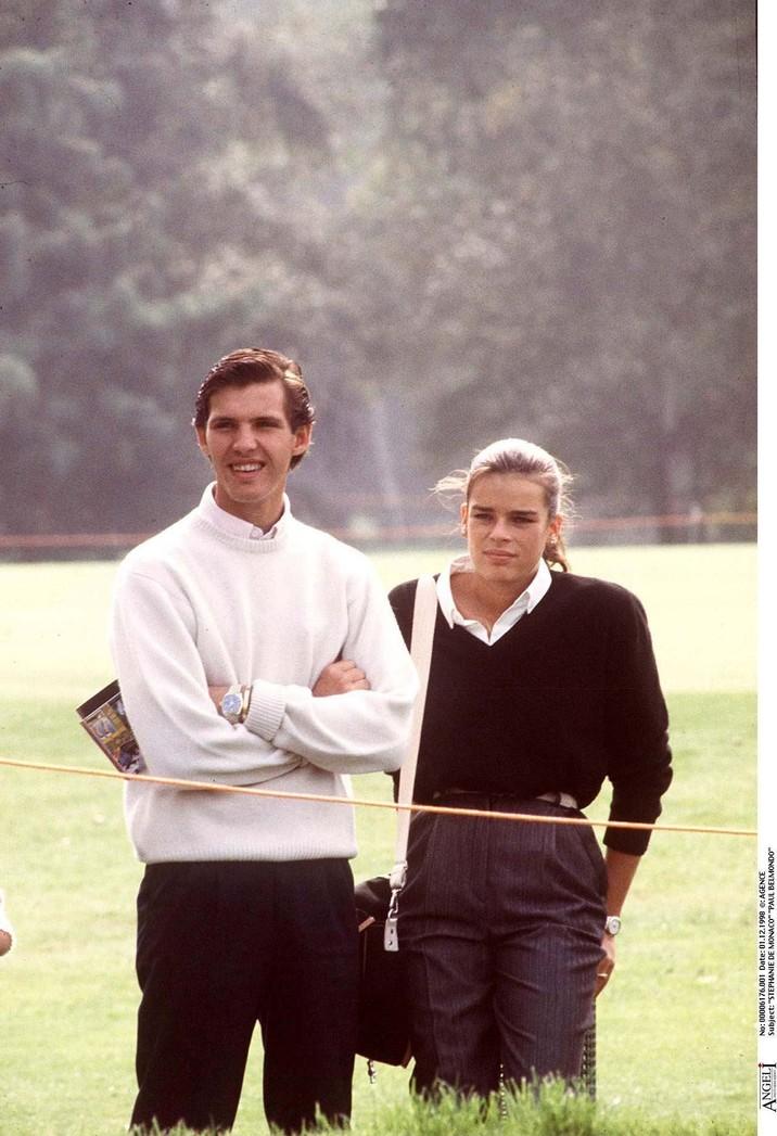 Stephanie alături de Paul Belmondo