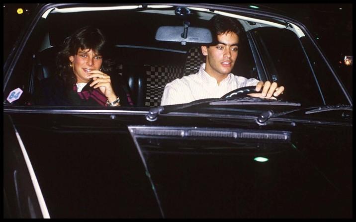 Prinţesa l-a părăsit pe Paul Belmondo pentru fiul lui Alain Delon, Anthony Delon.