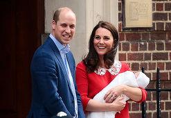 William, declaraţii rare despre micul prinţ Louis! Ce a spus Ducele de Cambridge?