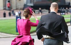 Primul gest intim făcut de Kate vizavi de William, în public!