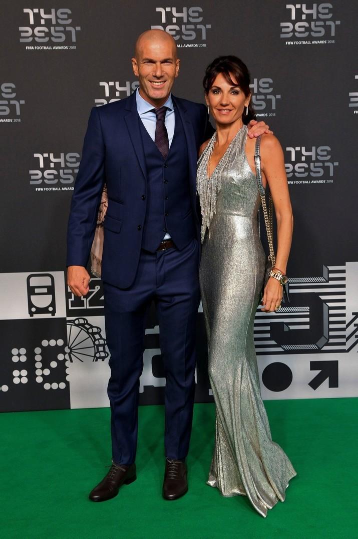 Zidane şi Veronique sunt căsătoriţi de 26 de ani şi au împreună patru băieţi