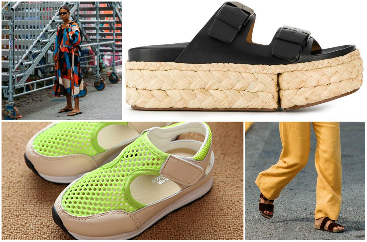 Papuci de plajă la modă 2019. Cinci modele care se poartă în această vară