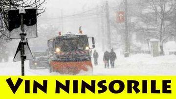 PROGNOZA METEO: e oficial, vine iarna in Romania in aceasta saptamana! Cand cad primele ninsori, va fi ger