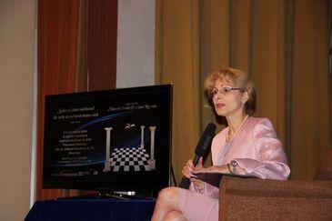 O fosta candidata la functia de presedinte al Romaniei este Marele Maestru al masoneriei feminine de la noi! Graziela Barla este de profesie avocat