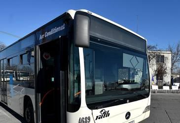 Un autobuz RATB a fost implicat intr-un accident rutier. 8 persoane au fost ranite