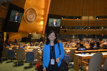 Fosta senatoare Simona Marinescu a ajuns director de dezvoltare la Natiunile Unite!
