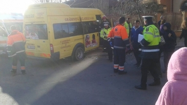 Accident grav in Vaslui. Mai multi elevi au ajuns in spital