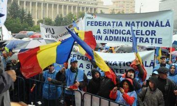 Sindicalistii din administratie ameninta cu proteste daca nu se schimba proiectul Legii salarizarii unitare