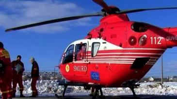 Accident pe Transfagarasan. Un motociclist strain a fost luat cu elicopterul SMURD