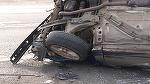 Un deputat PNL s-a rasturnat cu masina si a fost ranit