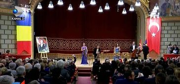 Gala de exceptie, aseara, la Ateneu, de Ziua Nationala a Turciei