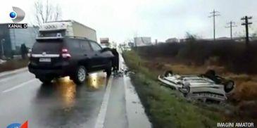 Doi politisti din Satu Mare si-au vazut moartea cu ochii in timp ce erau in misiune!