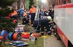 Fetita de 12 ani, prinsa sub rotile tramvaiului, in Arad