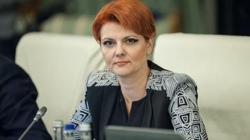 Cu o mana da, cu doua ia! Ministrul Muncii Olguta Vasilescu face revolutie cu salariile bugetarilor!
