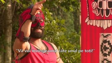 """Si turcii au un jucator mascat! Uite cine e """"Octagon"""" de Turcia! Il cheama Turabi si le-a pus gand rau romanilor!"""