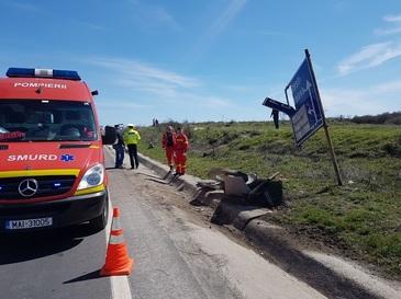 Accident teribil la Craiova! Un motociclist a murit decapitat!