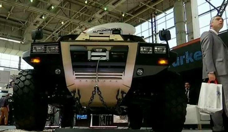 Expozitie de blindate in Bucuresti! Companiile turcesti vor sa colaboreze cu cele romanesti pentru constructia vehiculelor militare!