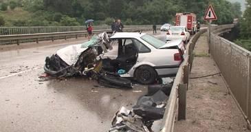 Accident cumplit in Bulgaria! Un barbat din Bals a murit, iar sotia si copilul lui sunt in stare grava la spital