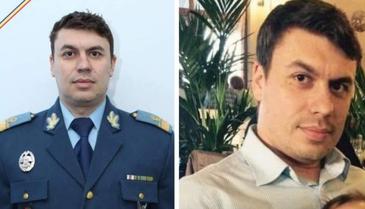 Florin Rotaru, pilotul care a murit sambata intr-un accident aviatic, a fost inmormantat astazi la Fetesti, cu onoruri militare