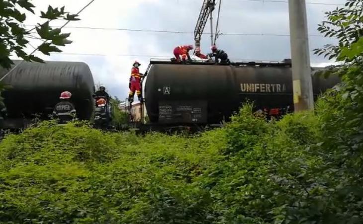 Un adolescent din Constanta s-a electrocutat pe calea ferata! Baiatul are arsuri pe 60% din suprafata corpului!