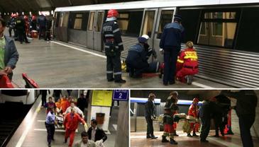 Misterul barbatului care s-a sinucis la statia de metrou Nicolae Teclu. Cine este el si de ce nu se face publica identitatea lui