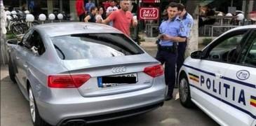 Soferul masinii cu numarul de inmatriculare anti-PSD s-a ales cu dosar penal
