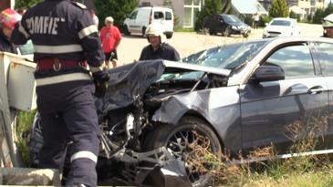 Accident grav, in Brasov! Un mort si mai multi raniti. Salvatorii intervin la fata locului