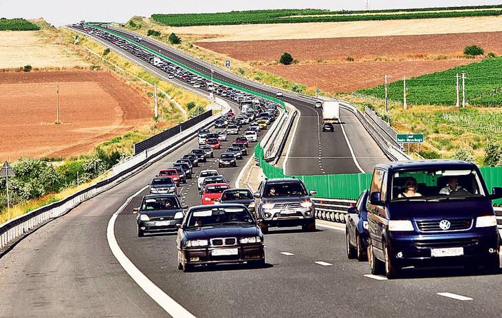 Trei accidente s-au produs pe Autostrada Soarelui, din cauza vitezei excesive