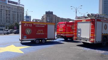 Ce se intampla acum in Piata Victoriei? Au fost aduse autospeciale pentru accidente biologice si chimice! Oare vor sa musamalizeze ceva?